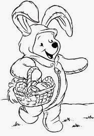 Easter Disney Coloring Pages 3