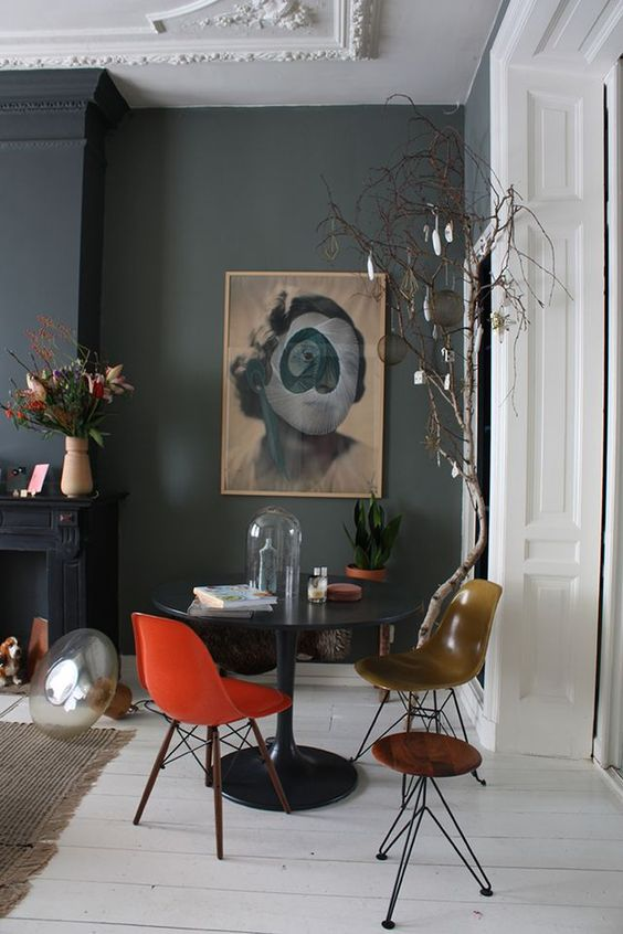 Dark And Stormy Fall Rooms South Shore Decorating Blog