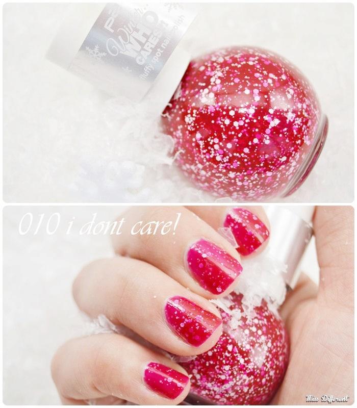 p2 Fluffy nail spot Polish