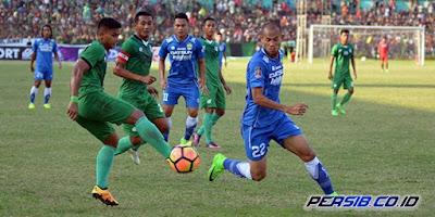Persib Bandung Ditahan Imbang PSMS Medan