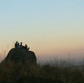Wisata Batu Baduduk Kandangan, Batu Baduduk di Gumbi, Batu Baduduk di Telaga langsat
