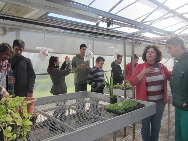 Piagetenses visita a la escuela de jardiner a el pinar for Escuelas de jardineria en barcelona