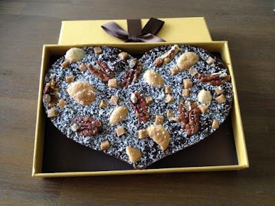 My happy kitchen test: Chocstar chocolade