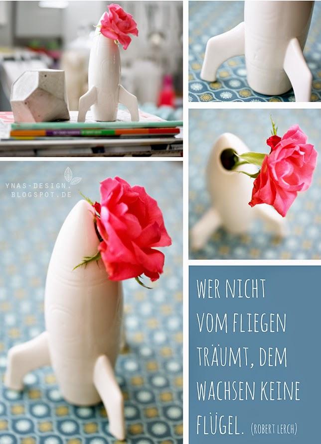 Ynas Design Blog, Raketen-Vase, homestyle