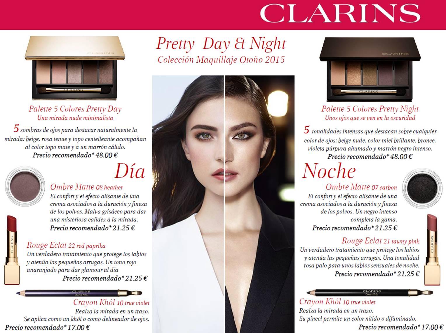 669b31b0f3 Me lo dijo Fani: Colección Maquillaje Clarins Otoño 2015: Pretty Day ...