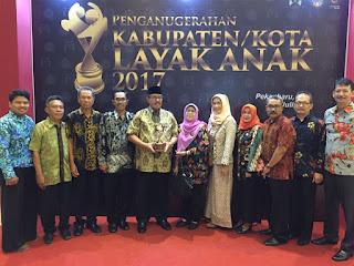 Kabupaten Bandung Raih Kabupaten Layak Anak Kategori Pratama