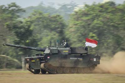 Medium Tank Harimau Pindad FNSS