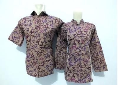 Contoh Baju Batik Seragam Guru