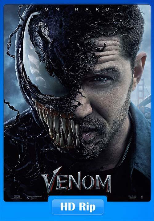 Venom 2018 720p Hindi Tamil Telugu HDRip Eng | 480p 300MB | 100MB HEVC