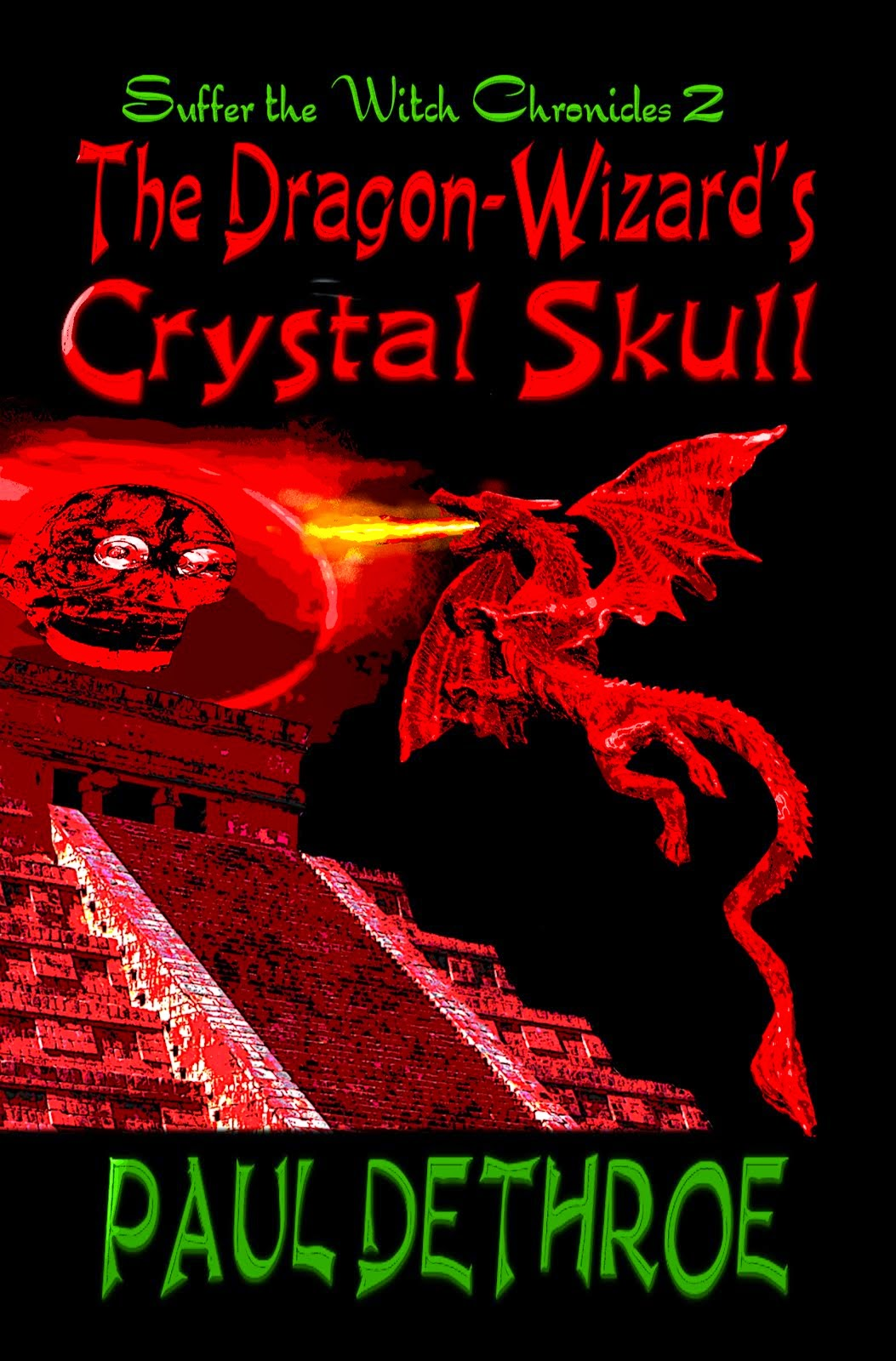 The Dragon-Wizard's Crystal Skull