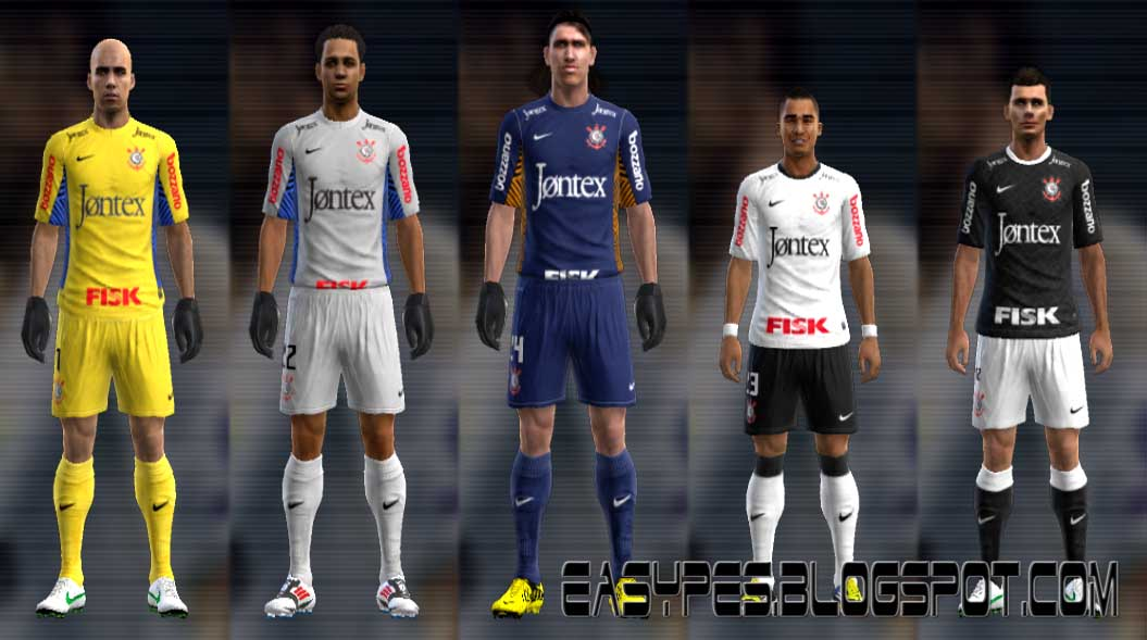 uniforme do corinthians para pes 2012