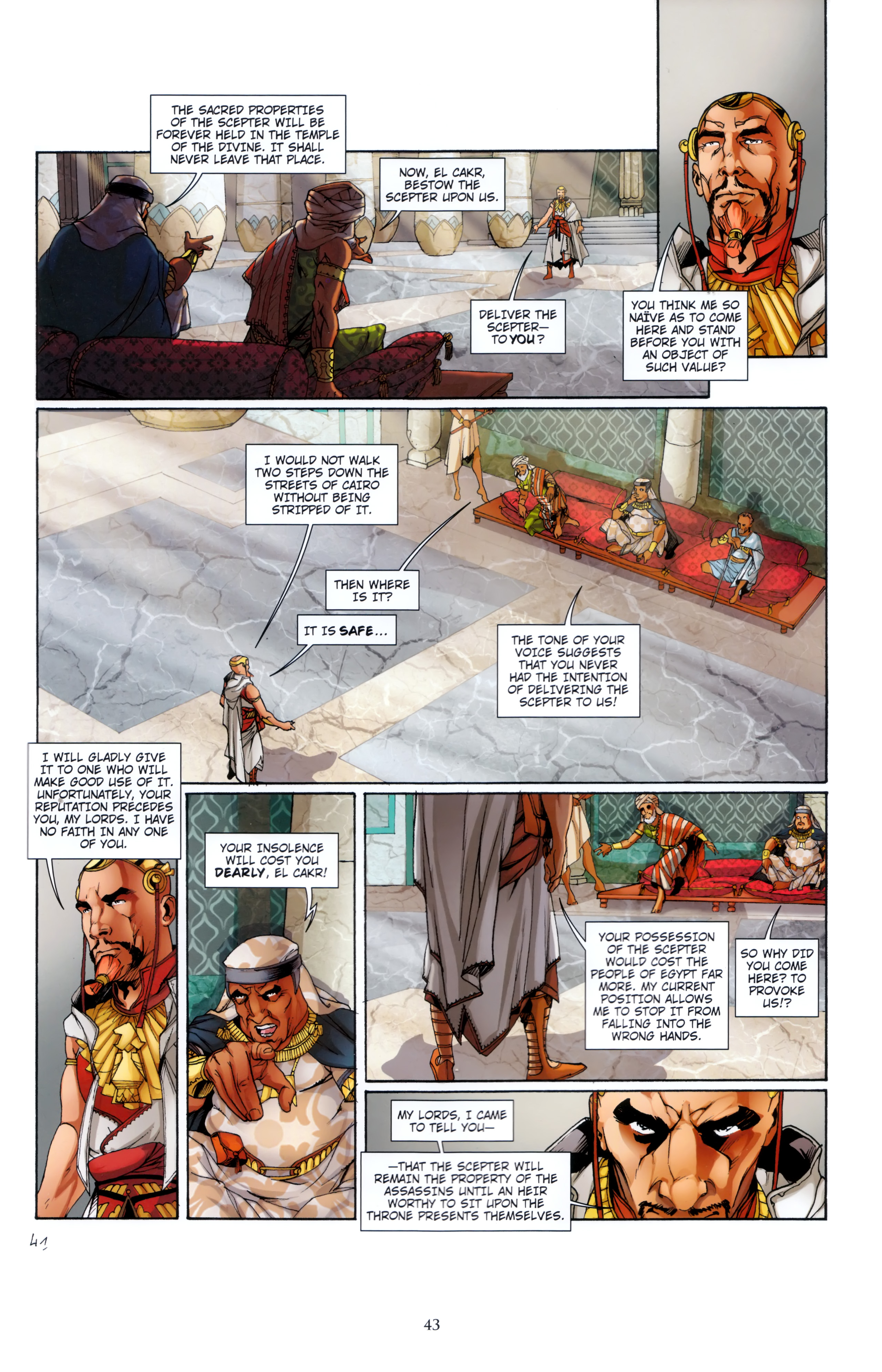 Read online Assassin's Creed (2012) comic -  Issue #5 - 43