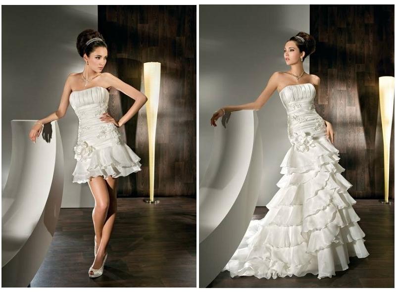 WhiteAzalea 2 In1 Wedding Dresses: Stunning Convertible