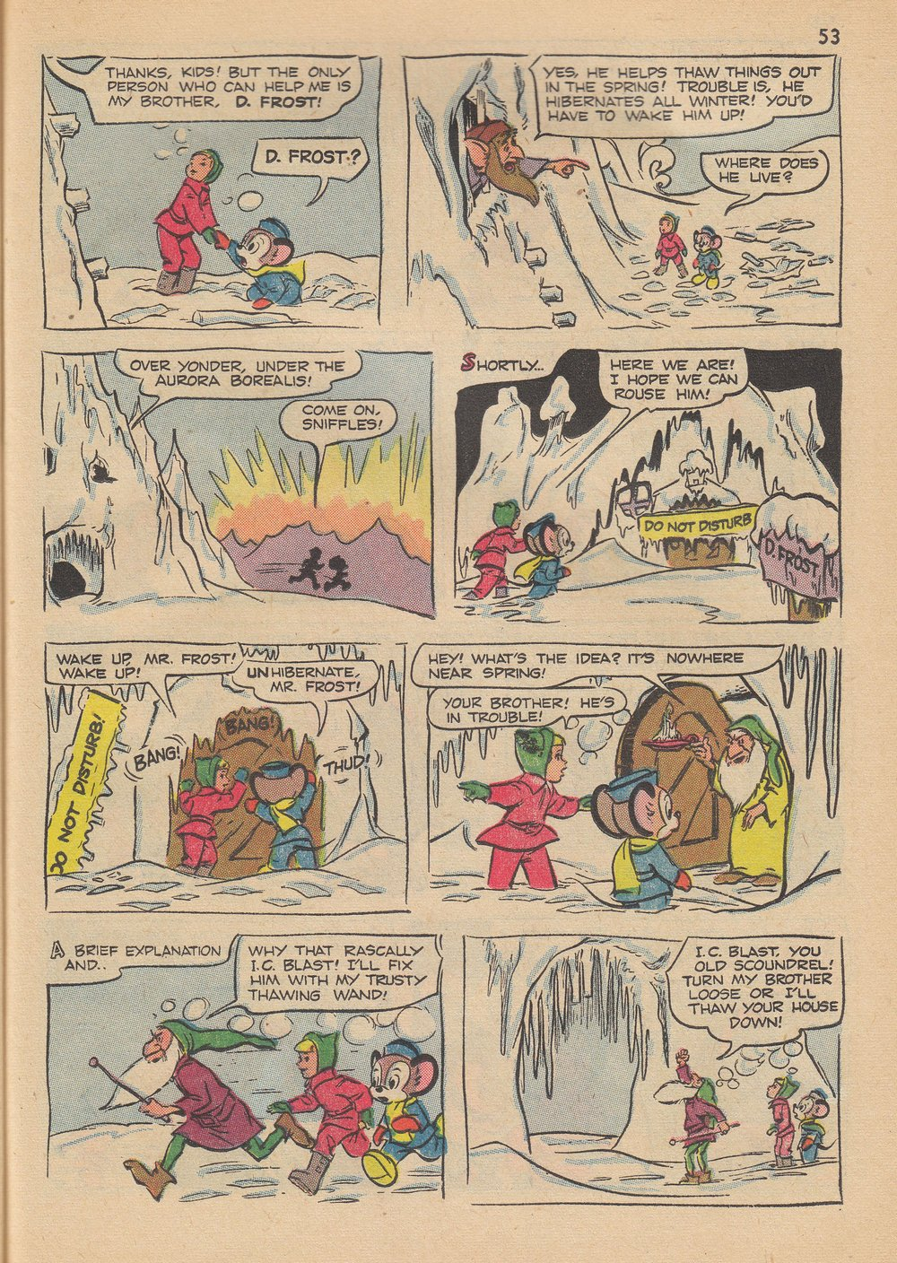 Read online Bugs Bunny's Christmas Funnies comic -  Issue # TPB 6 - 55