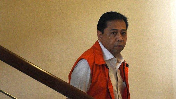 Jalan Panjang Sebelum Setya Novanto Dituntut 16 Tahun Penjara