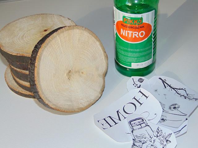 jak zrobić transfer na drewnie