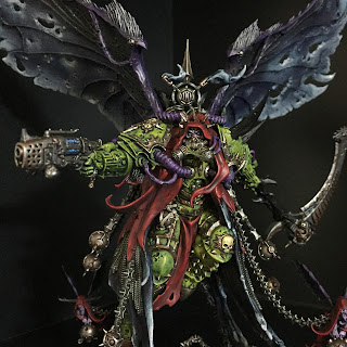 painting mortarion primach death guard painted Daemon