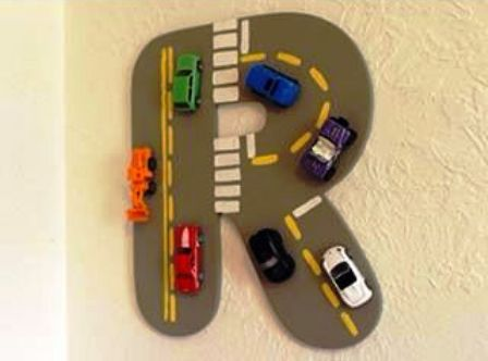 Hiasan Dinding Maket Mainan Dari Kardus Car Area Bintangtop Com