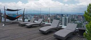terraza en atrium