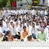 भारत बंदच्या पार्श्वभुमीवर विरोधी पक्षांचे जिल्हाधिकारी कार्यालया समोर निदर्शने