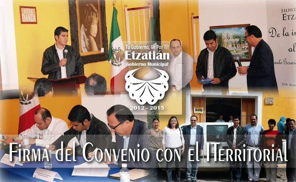 Blog De Información De Etzatlán: Blog De Información De Etzatlán: Firman Convenio