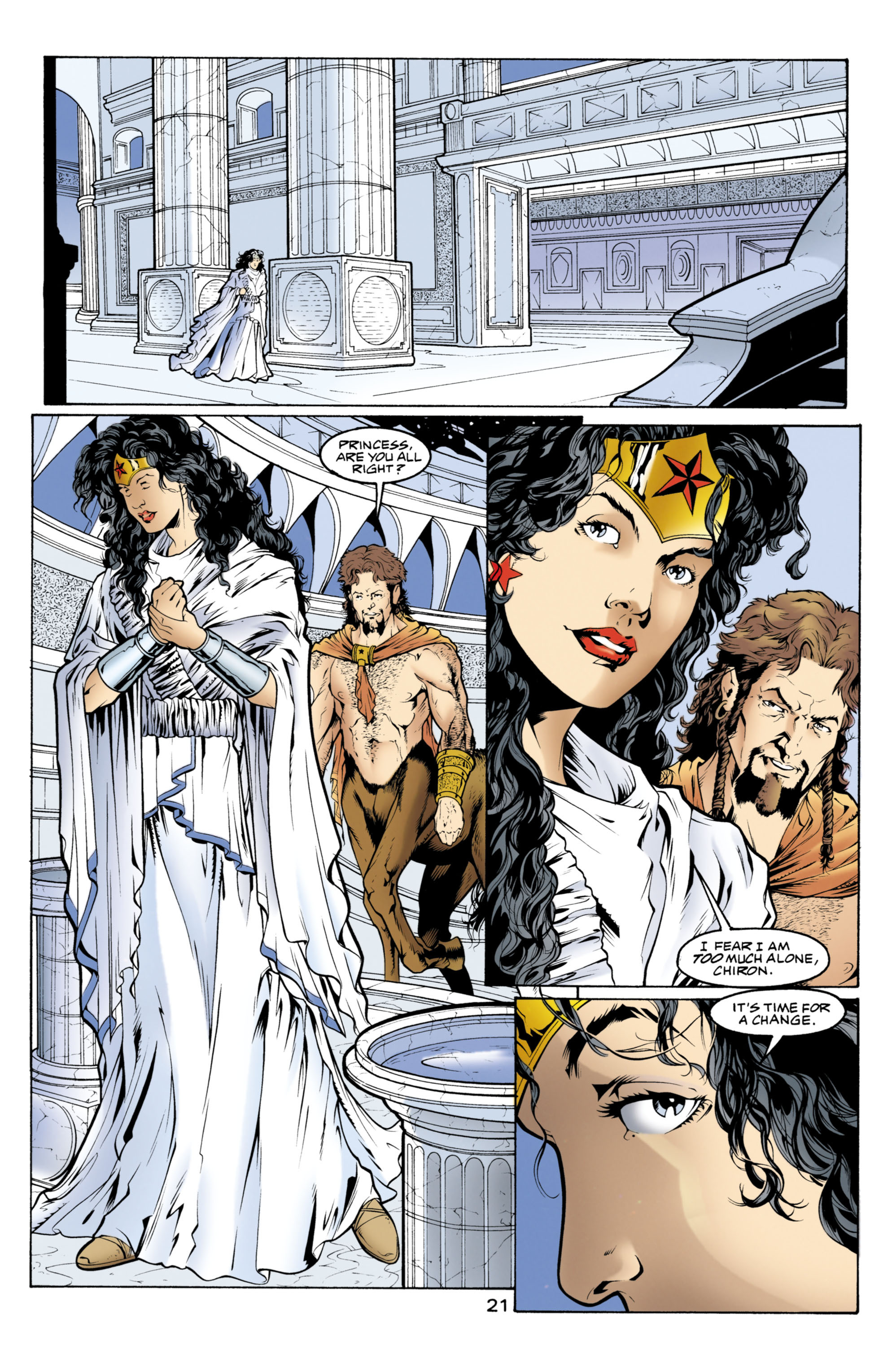 Read online Wonder Woman (1987) comic -  Issue #152 - 22