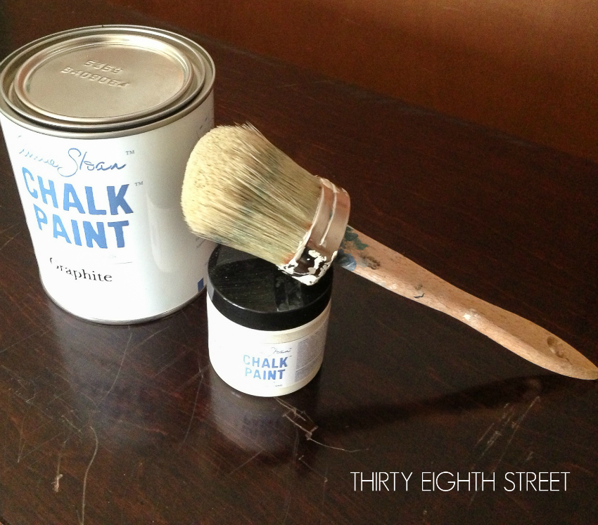 graphite chalk paint, black chalk paint, annie sloan chalk paint, annie sloan graphite, painting with chalk paint, chalk paint color graphite, annie sloan chalk paint, ascp