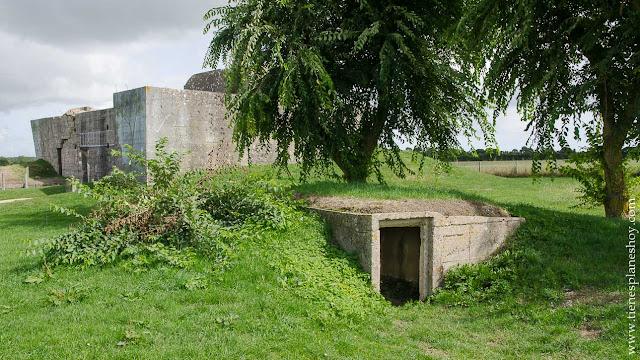 Batería de Azeville viaje Normandía turismo Francia visita