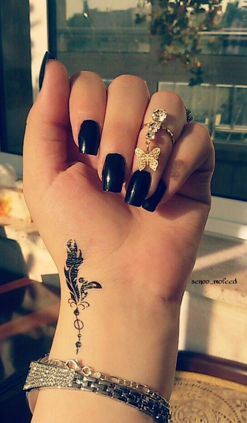 Cute Wrist Tattoos For Women