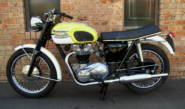 Trojan Classic Motorcycles 1963 Triumph 6t Thunderbird