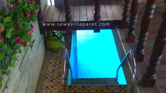 Sewa Villa Pacet Murah - Villa Mepet Sawah Pacet
