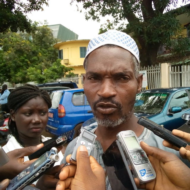Ibrahima Kindy Bah Mali Yimbering père de la victime.