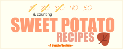 Tired of the same-old same-old sweet potatoes? Find new inspiration in this collection of seasonal Sweet Potato Recipes ♥ AVeggieVenture.com, savory to sweet, every-day to special-occasion, simple to complex, summer to winter. Many Weight Watchers, vegan, gluten-free, low-carb, paleo, whole30 recipes.