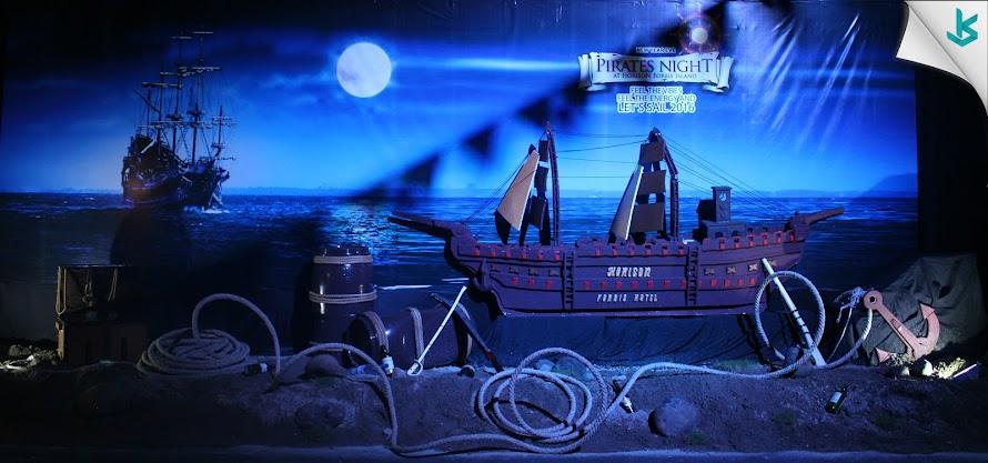 Horison Forbis Rayakan Tahun Baru ala Bajak Laut