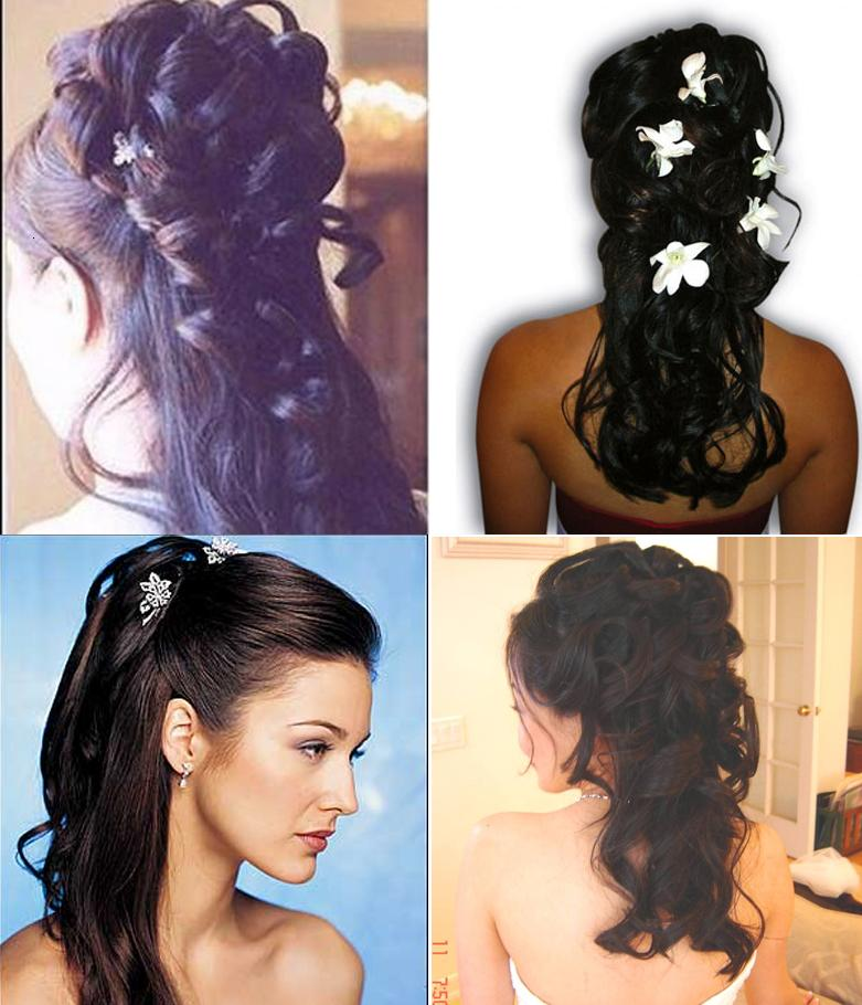 Latest Indian Bridal Hairstyles: New Ladies Fashion Trend And Hair Styles: Indian Bridal