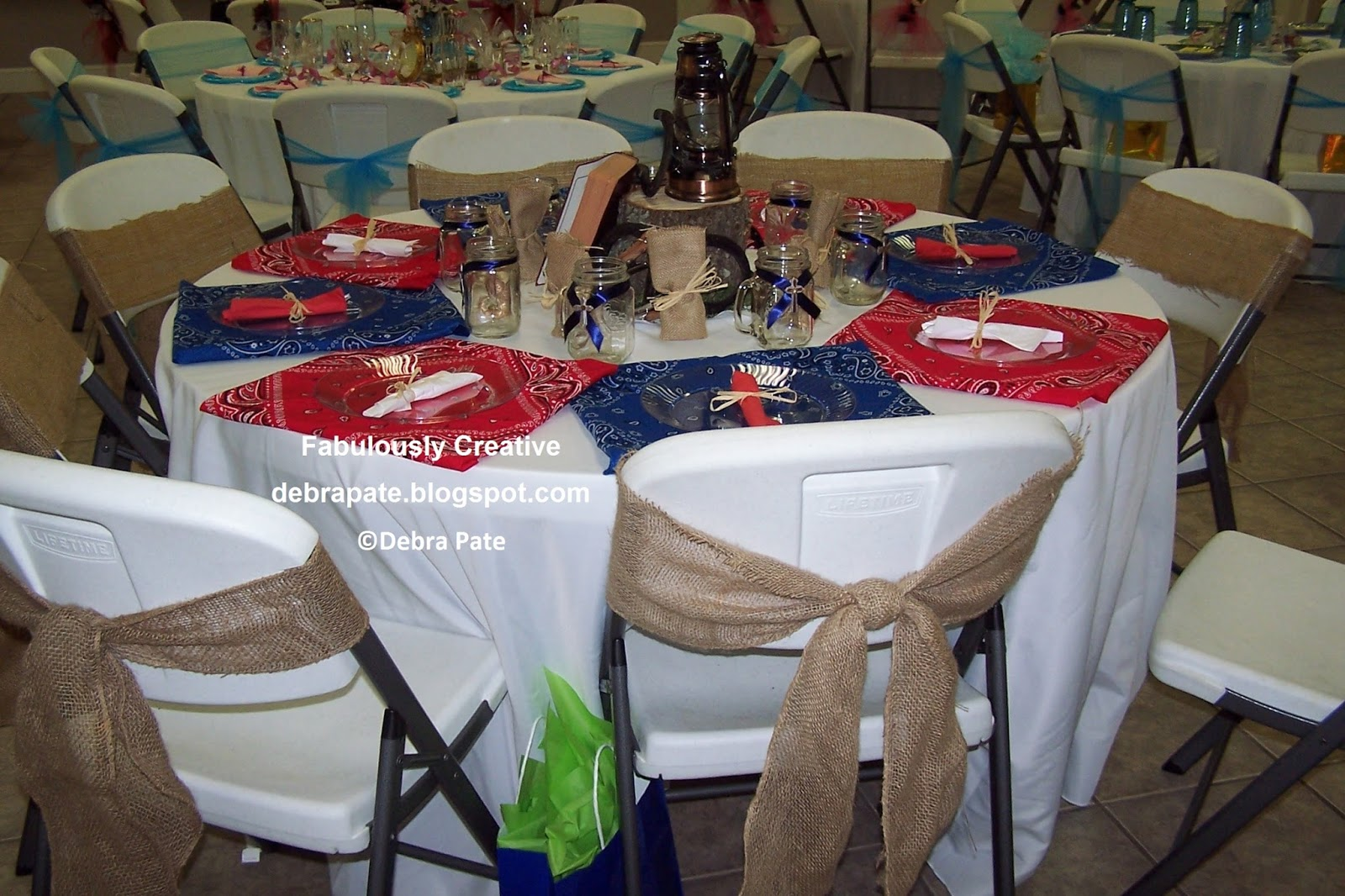 Fabulously creative shoe themed party table 5 for Decoration western