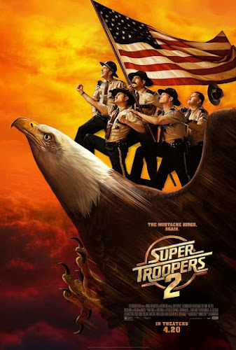 Super Troopers 2 (BRRip 720p Dual Latino / Ingles) (2018)