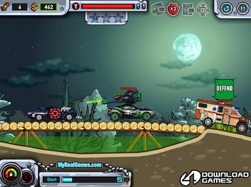 لعبة السيارات الحربية Dead Paradise 3