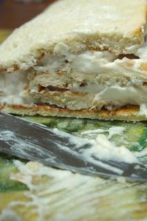 Rhubarb Angel Food Cake Roll: Savory Sweet and Satisfying