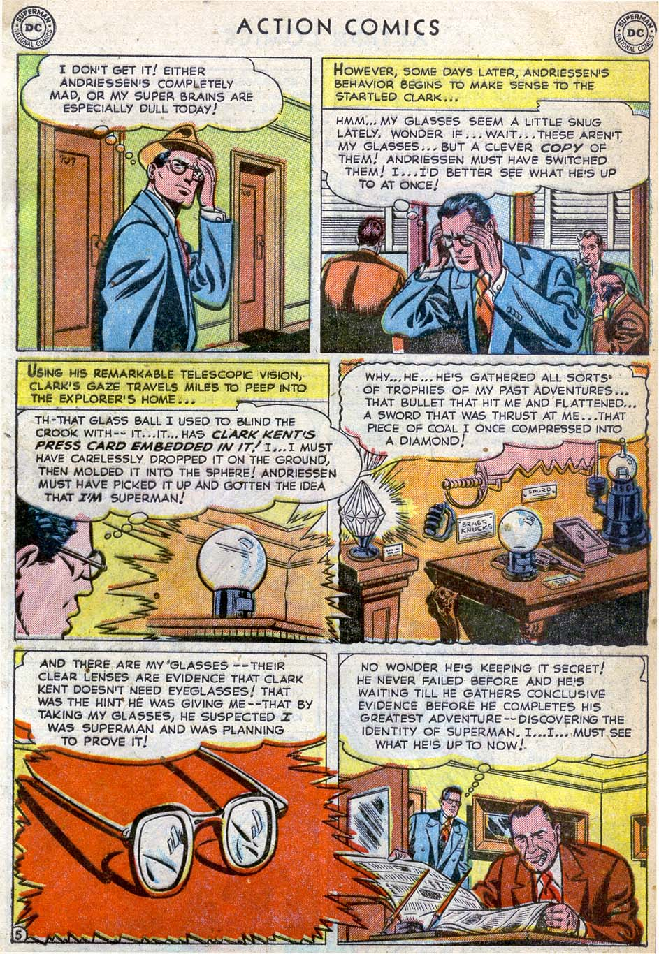 Action Comics (1938) 164 Page 6