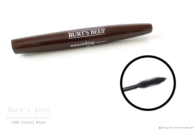Burt's Bees Nourishing Mascara Review in 1305 Classic Black