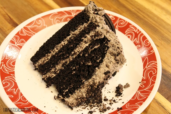 Chocolate Oreo Cake #recipe #dessert #chocolate #cake #oreo