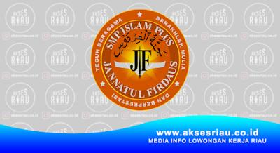 Lowongan SMP Islam Plus Jannatul Firdaus Pekanbaru April 2018