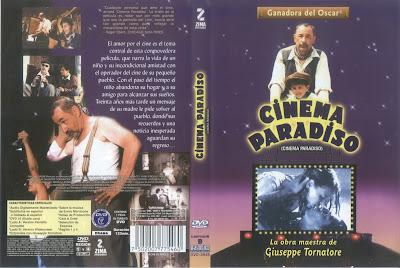 Carátula dvd - Cinema Paradiso / Nuovo Cinema Paradiso