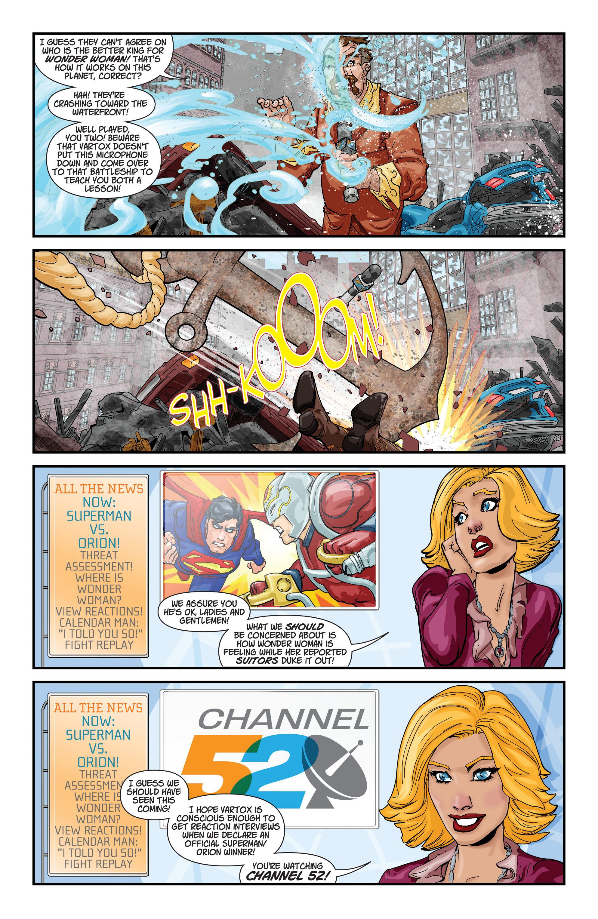 Read online Aquaman (2011) comic -  Issue #20 - 23