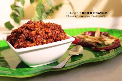 unakka chemmeen chammanthi roasted dried prawns kerala chammanti chemmeen chammanti chelli malabar recipes make ahead recipes fish recipes prawns recipes shrimp