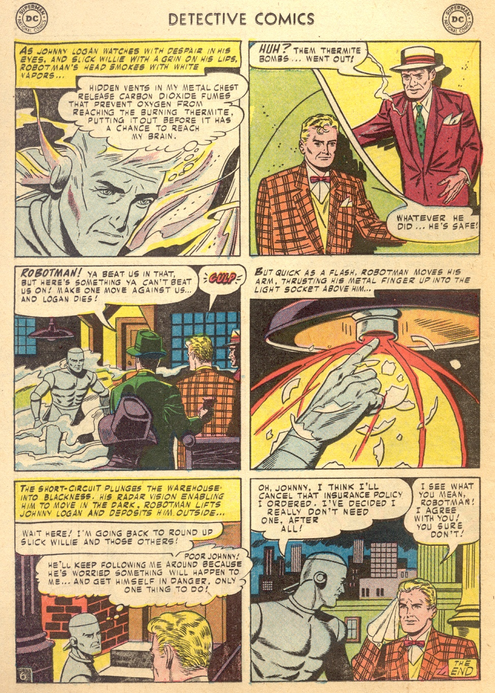 Read online Detective Comics (1937) comic -  Issue #187 - 32