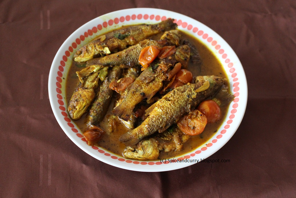 Spice and curry belanak fish curry small mullet fish curry for Mullet fish recipe