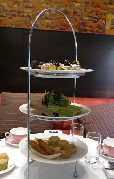 High Tea at the Intercontinental - Rialto: savoury and sweet treats