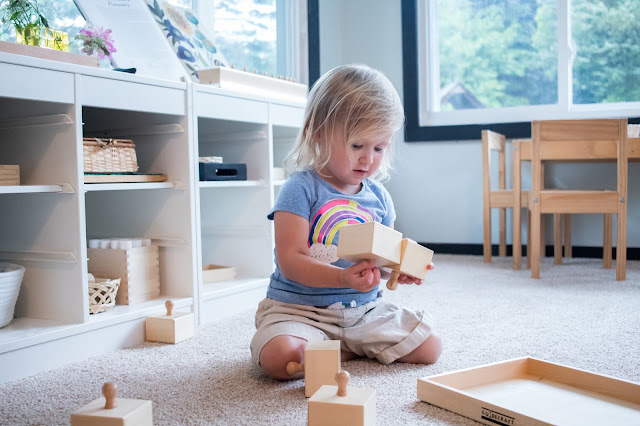 Older toddlers start to refine their senses, in a Montessori classroom this is done through sensorial work. Here are some alternatives to traditional sensorial work that can help compliment these Montessori materials at home!